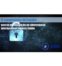 Compromiso de España para la Promoción de un Ciberespacio Internacional Seguro y Fiable
