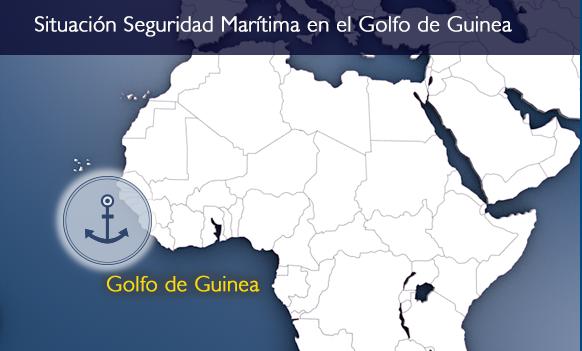 Golfo de Guinea-Mapa Situación