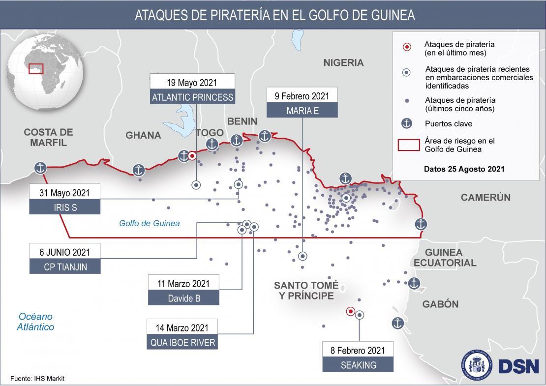 Piratería en el Golfo de Guinea