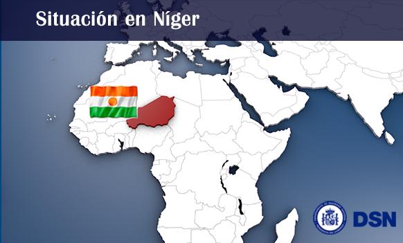 Níger - Mapa África
