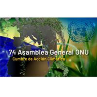 74 ª Asamblea General de la ONU - Cumbre de Acción Climática