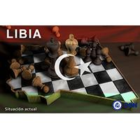 Imagen Ajedrez Bandera Libia