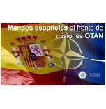 Mandos Españoles al frente de misiones OTAN