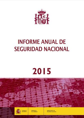 Informe Anual de Seguridad Nacional 2015