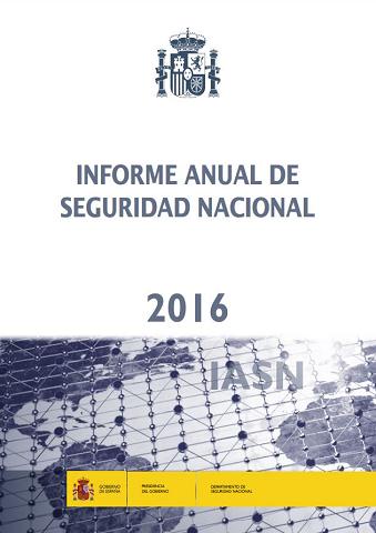 Informe Anual de Seguridad Nacional 2016