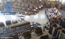 La Policía Nacional desarticula una red de tráfico de armas