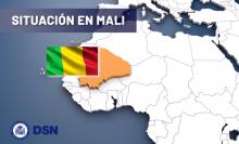 Mapa Mali Situación