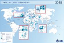 Mapa de Conflictos Armados - 2018