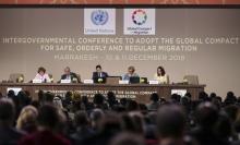 Conferencia Intergubernamental en Marraquech