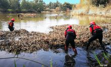 """Operación Medioambiental """"Extremadura"""" de la UME"""