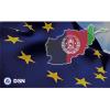 Imagen Banderas UE-Afganistán