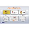 Nota informativa del incendio de Encinedo (León)