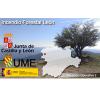 Evolución del incendio forestal originado el día 19 de abril en el municipio de Bouzas (León)